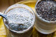 Receita de doce FIT de chia com leite de coco - rápida e super fácil de preparar! - Mulher Malhada