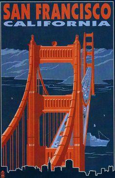 vintage san francisco | Vintage San Francisco Postcards | Editing Luke