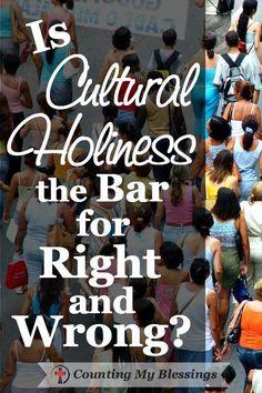 Cultural holiness ca