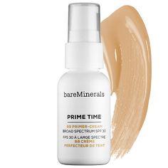 bareMinerals - Prime Time™ BB Primer-Cream Daily Defense Broad Spectrum SPF 30  in Light #sephora
