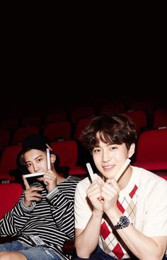 Chanyeol and Suho Wallpaper♥️❤️