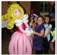 Balloon Disney Princess Art