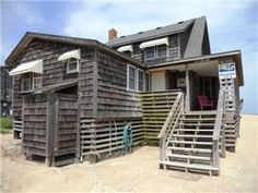 4 bedrooms, & 2 Baths. Enjoy the charming old Nags Head feel of this authentic cottage. Walk right off the back porch onto the sand and enjoy the ...