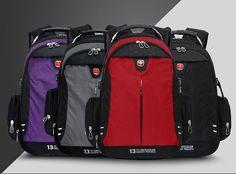 Faket Latest Unisex Swissgear Backpack Laptop Bag School Hiking Bag Polyester