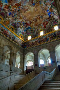 Monasterio de El Escorial II Baroque, Escorial Madrid, Spain And Portugal, Beautiful Dream, Buckingham Palace, Barcelona Spain, Cathedrals, Palaces, Disney Art