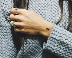 Othala Rune, meaning 'homeland'. You might wear this to pay homage to your ancestors or something you have inherited. #rune #tattoo