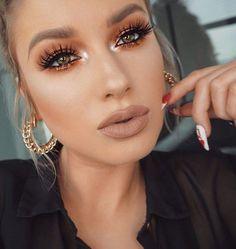 Copper Eyes | Valentine's Day Makeup Ideas