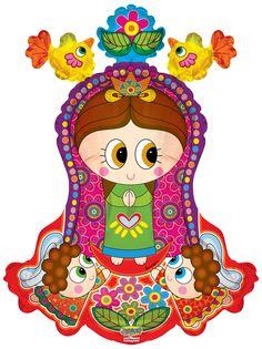 Virgencita @Distroller Con Angelitos Shape 28 #globo #virgen #María