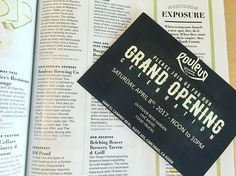 THIS IS NOT A DRILL! @sandiegomag's Best of North County 2017 pick is open! We'll be spending this Saturday celebrating @rouleurbrewing's GRAND OPENING with food trucks, live music and an outdoor beer garden 🍻🌯🕺🏻Noon to 10 p.m. Be there or be ▪️#plainclaritypr #sandiegopr #prlife #craftbeer #sandiego #sandiegobeer #sandiego #sandiegoconnection #sdlocals #sandiegolocals - posted by PlainClarity https://www.instagram.com/plainclarity. See more San Diego Beer at http://sdconnection.com