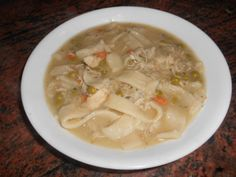 Yum... I'd Pinch That! | GREAT OLD FASHIONED CHICKEN AND DUMPLINGS