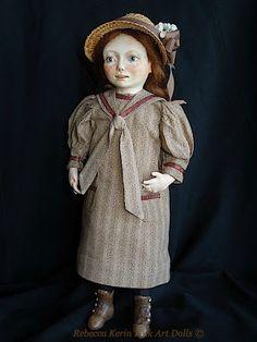 Rebecca Kerin Folk Art Dolls