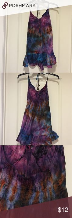 ✨Cute Tank✨✨ON SALEFriday Special Really cute summer tank, beautiful colors in brand new condition  Tops Tank Tops