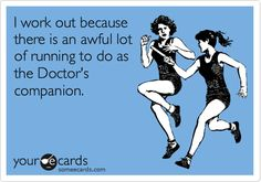 #DoctorWho #thedoctor #workout #run #motivation