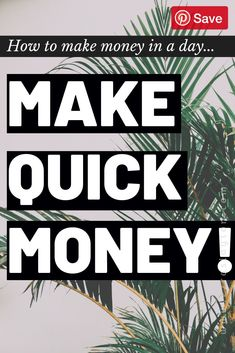 Need quick money? Gotta pay a bill like NOW? Click, And Discover How To Make Quick Money in a Day! Make Quick Money, Make Money Today, Make Money Blogging, Make Money From Home, Way To Make Money, Earn Money Online, Online Jobs, Affiliate Marketing, Online Marketing
