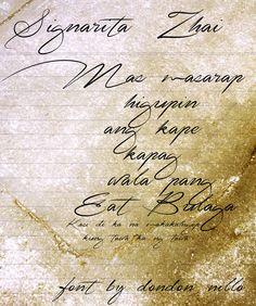Signarita Zhai Font | dafont.com