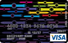 Watch Out Visa Gift Card Custom Gift Cards, Teen Fun, Visa Gift Card, Design Your Own, Watch, How To Make, Gifts, Clock, Presents