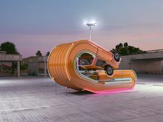 Twisted Cars Star In These Surreal Digital Sculptures