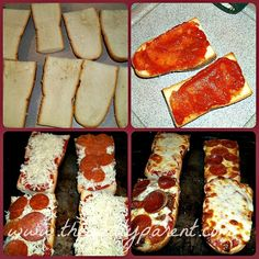 french bread pizzas. 8 on a Jo scale. 10 for ease of making tho! The bread I got was a little too thick. If you have thick bread, pull some out of the middle before you add toppings. Mine nearly slid off and the bread was crunchy. And crunchy. And crunchy...Thinner bread would increase the Jo factor...