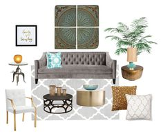 """Modern Electic Mediterranean"" by jaime17 on Polyvore featuring interior, interiors, interior design, home, home decor, interior decorating, Dot & Bo, Ethan Allen, Global Views and Universal Lighting and Decor"