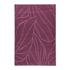 "Ikea LÄBORG rug, low pile, lilac Length: 6 ' 5 "" Width: 4 ' 4 "" Surface density: 5 oz/sq ft Length: 195 cm Width: 133 cm Surface density: 1450 g/m²"