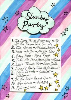 Friday Playlist: Slumber Party