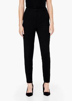 Suit slim-fit trousers | MANGO