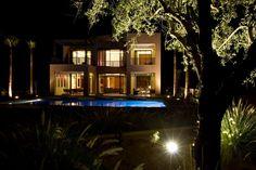 Villa in the night 2