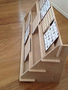 Display Stand - 3 shelf version - flat pack - ideal for craft fairs! Various lengths & can be customised. Display Stand - 3 shelf version - flat pack - ideal for craft fairs! Can be… Craft Show Displays, Market Displays, Craft Show Ideas, Display Ideas, Card Displays, Market Stall Display, Booth Ideas, The Coasters, Glass Coasters