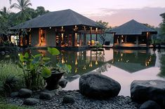 Bali Retreat - nestled in the hillside just outside of the city of Ubud.