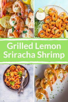 This Grilled Lemon Sriracha Shrimp recipe is perfect for summer on your outdoor grill or during the colder months using your indoor grill pan. If you're looking to spice up your dinner rotation, this is an easy one to make! #17daydiet #17daydietrecipes #lowcarbrecipes #shrimpkebabs #lowcarbshrimprecipes #easylowcarbseafoodnrecipes Low Carb Shrimp Recipes, Diet Recipes, Lunches And Dinners, Meals, 17 Day Diet, Indoor Grill, Grill Pan, Easy Dinner Recipes, Spice Things Up