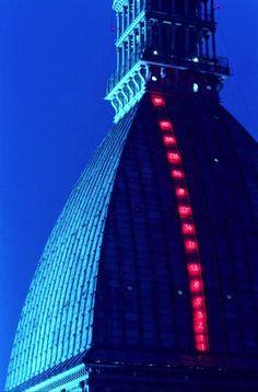 Mario Merz, Il volo dei numeri Giuseppe Penone, Lights Artist, Light Quotes, Installation Art, Art Installations, Turin, Land Art, Neon Lighting, Public Art
