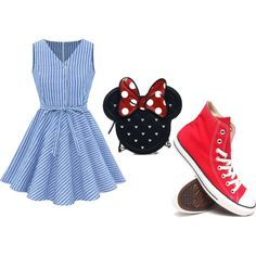 Untitled #5 by carausudiana on Polyvore featuring polyvore beauty Loungefly Converse
