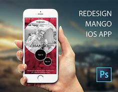 "Check out new work on my @Behance portfolio: ""Redesign Mango IOS APP"" http://be.net/gallery/45691309/Redesign-Mango-IOS-APP"