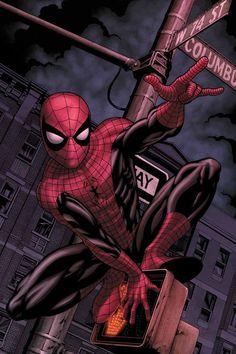 #Spiderman #Fan #Art. (Web Of Spiderman: Vol.1 #129.1 & 129.2 Cover By: MIKE MCKONE. (THE * 5 * STÅR * ÅWARD * OF * MAJOR ÅWESOMENESS!!!™)[THANK U 4 PINNING!!!<·><]<©>ÅÅÅ+(OB4E)                  https://s-media-cache-ak0.pinimg.com/564x/80/dc/ff/80dcff950c12fa10f060fde676f099de.jpg