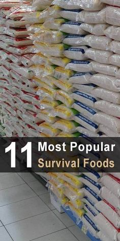 When it comes to disaster preparedness, there is a reason certain survival foods have remained so popular in survivalist circles. #foodstorage #survivalfood #emergencyfood #storefood #preparedness