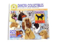 Dakota Collectibles  Dandy Dogs  Embroidery by TheEclecticBazzar