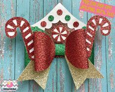 Handmade Hair Bows, Diy Hair Bows, Making Hair Bows, Diy Bow, Ribbon Hair, Diy Hair Accessories Ribbon, Girls Hair Accessories, Christmas Hair Bows, Christmas Crafts