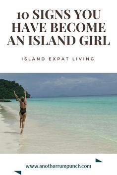 10 Signs You Have Become An Island Girl - Another Rum Punch Island Girl, Caribbean, In This Moment, Signs, Beach, Water, Fun, Outdoor