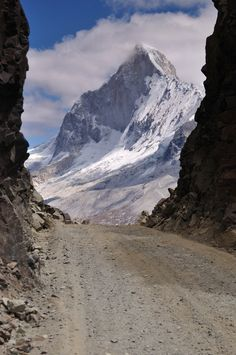 'The Other Side' by artesia, Ancash Cordillera Blanca, Peru. Been here with altitude sickness! Ecuador, The Places Youll Go, Places To See, Monte Everest, Andes Mountains, Peru Travel, Around The Worlds, Places Around The World, Machu Picchu