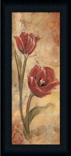 Floral X Vintage Decorative Wall Decor Art Print Framed on eBay!