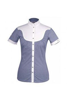 Fair Play Alice ,  Wedstrijdshirt van Fair Play met een glimmend logo op de rug. Het shirt is licht getailleerd en van perfecte kwaliteit