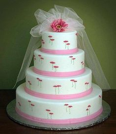 Torte nuziali rosa  (Foto 34/40) | Donna