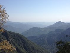 Such a breath taking view on the way out of the Sequoia National Park.