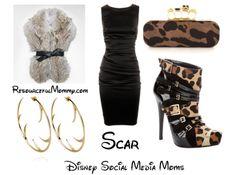 Disney Inspired Fashion | Disney Villain Inspired Fashion – Scar and Ursula