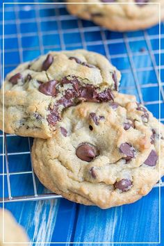 Stay Soft Chocolate Chip Cookies - Chocolate Chip - Ideas of Chocolate Chip #ChocolateChip -  Thick pillowy chocolate chip cookies that are quick and easy to make and stay soft for days!