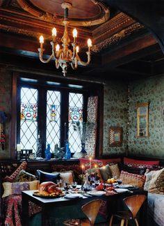 Gypsy tea room