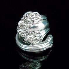 Antique Spoon Jewelry Silver Spoon Ring $19.99