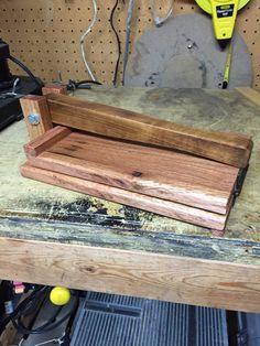 Tortilla press Tortilla Press, Kitchen Stuff, Wood, Diy, Board, Cooking, Woodwind Instrument, Timber Wood, Trees