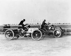 October 10, 1901: Henry Ford drives one of his automobiles for first and last time in a race.