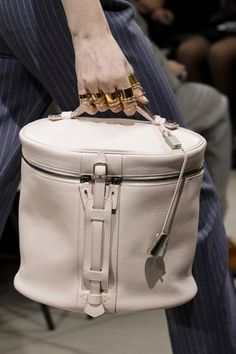 Balenciaga  A vanity case is so smart and sophisticated. Very Some Like It Hot.